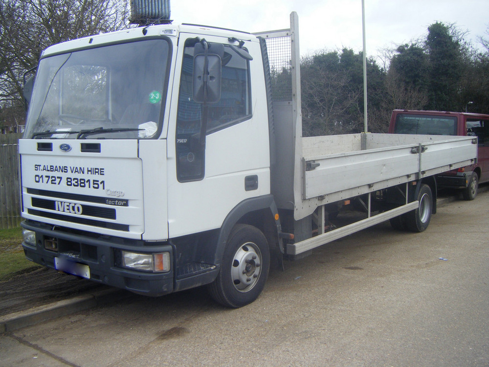 Ford Iveco 7 5 Tonne Flatbed Dropside Lorry Find A