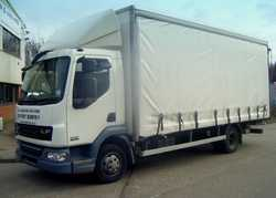 DAF/Ford Iveco 7.5 tonne Curtain-Sider Lorry