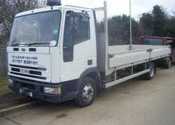 Ford Iveco 7.5 tonne Flatbed / Dropside Lorry