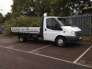 Ford Transit Tipper Lorry for Rental