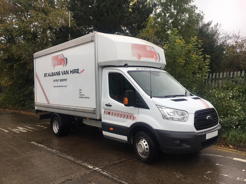 Hire a Ford Transit Luton Van