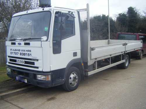 Ford Iveco 7.50 tonne for Hire