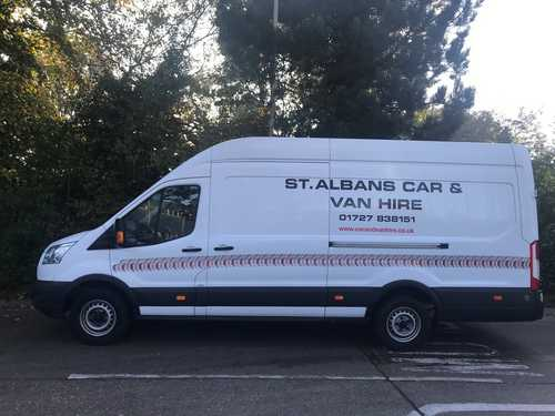 Ford Transit Jumbo Long Wheelbase Hi-Cube Van for Hire