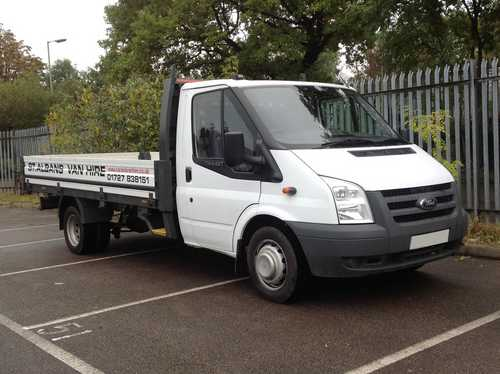 Ford Transit Tipper Lorry for Hire