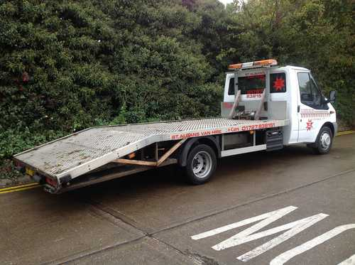 Hire a Ford Transit Single Car transporter