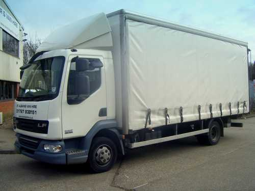 DAF or Ford Iveco 7.5 Tonne for Hire