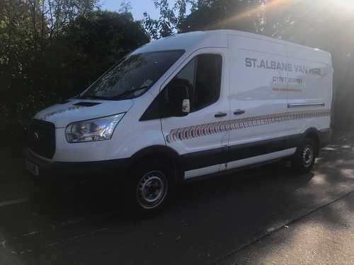 Ford Transit Long Wheelbase Van for Hire
